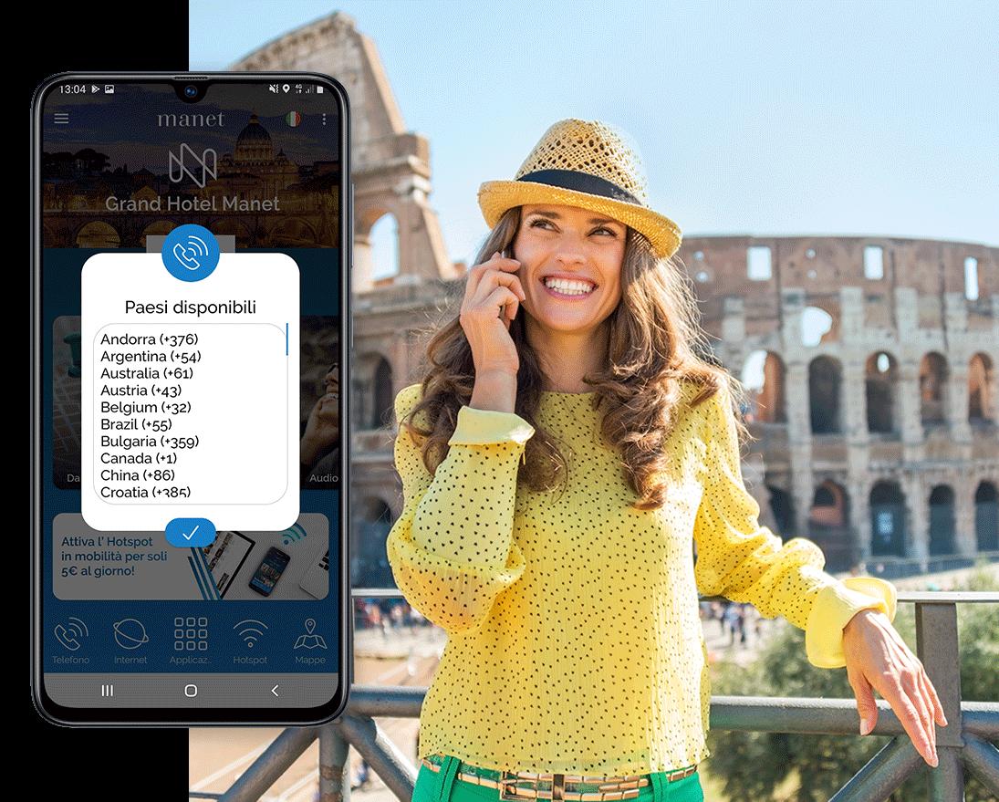 Il dispositivo Manet fornisce chiamate illimitate in tutto il mondo