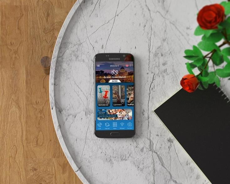 In vacanza con lo smartphone gratuito dell'hotel che fa da maggiordomo virtuale