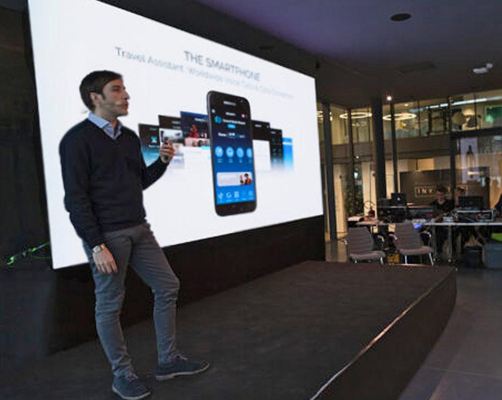 Antonio Calia, CEO di Manet Mobile Solutions, presenta la soluzione Manet